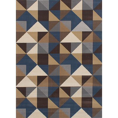 Casavant Dark Gray/Tan Area Rug