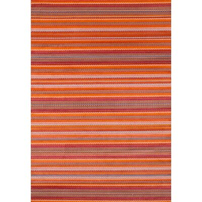 Griffeth Orange/Red Area Rug