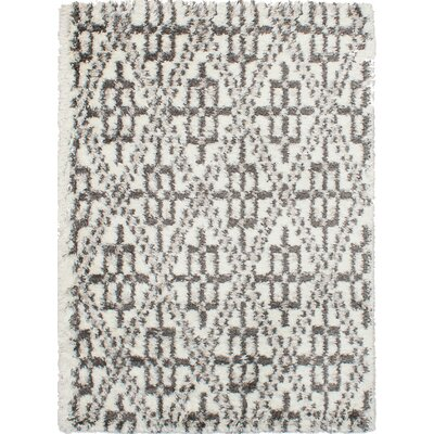 Corbett Cream/Dark Gray Area Rug