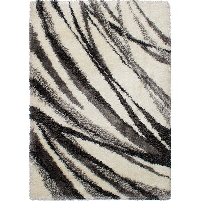 Leeson Black/Cream Area Rug