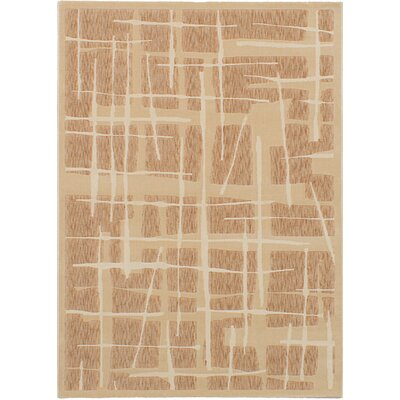 Norfleet Ivory/Tan Area Rug Rug Size: Rectangle 311 x 57