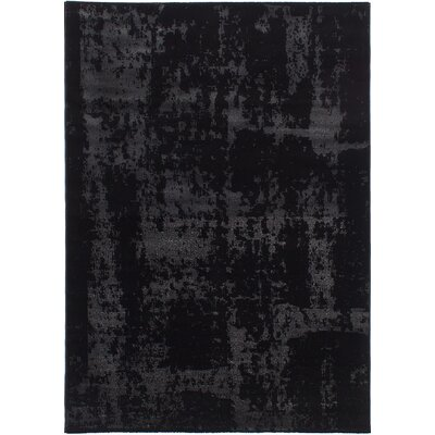 Duckworth Black/Light Gray Area Rug
