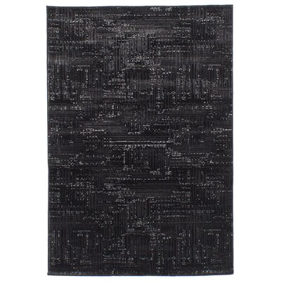 Duchene Black Area Rug