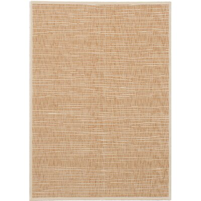 Whimbrel Tan Area Rug Rug Size: Rectangle 55 x 78