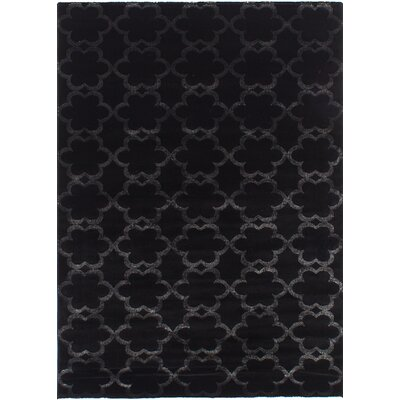 Lees Black Area Rug