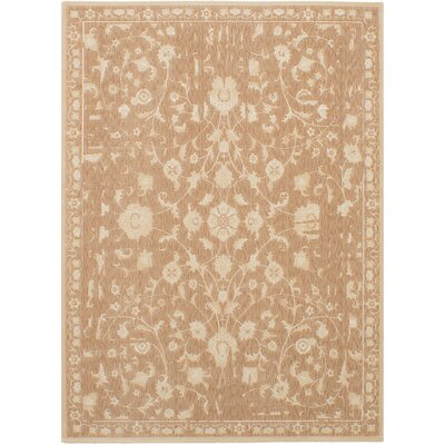Himrod Beige Area Rug Rug Size: Rectangle 55 x 78