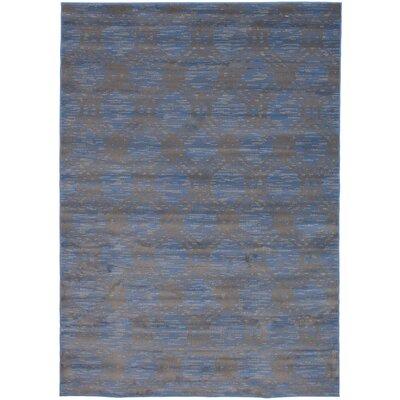 Dinapoli Blue/Brown Area Rug