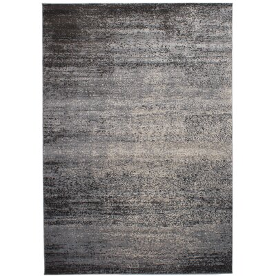Delvalle Light Gray Area Rug Rug Size: Rectangle 67 x 83