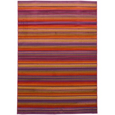 Leeper Red Area Rug