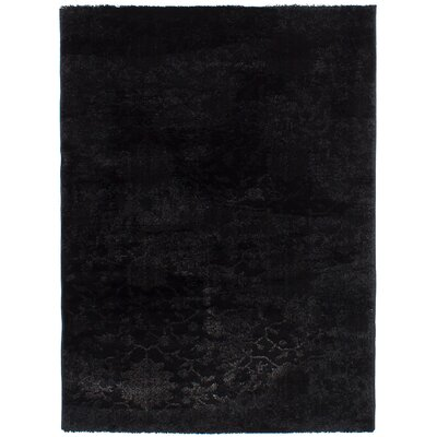 Decarlo Black Area Rug