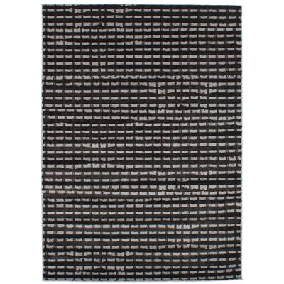 Duchene Black/Light Gray Area Rug