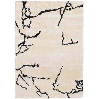 Purmerend Ivory Area Rug Rug Size: Rectangle 310 x 57