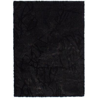 Purmerend Black Area Rug
