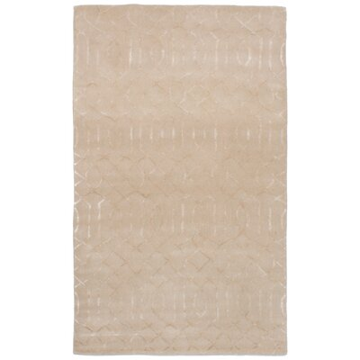 Griffing Hand-Tufted Beige/Ivory Area Rug