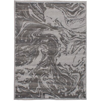 Robie Dark Gray Area Rug