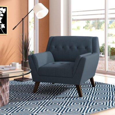 Schiller Armchair Upholstery: Navy