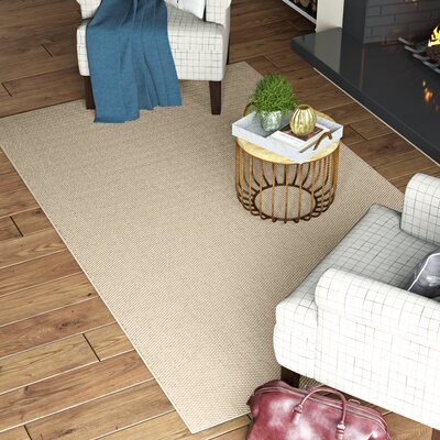 Paray Linen Area Rug Rug Size: Runner 26 x 9