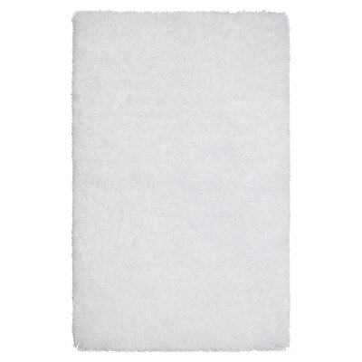 Nasim White Area Rug Rug Size: Rectangle 5 x 8