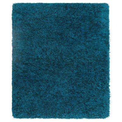 Nasim Teal Area Rug Rug Size: Rectangle 8 x 10