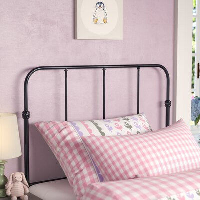 Collin Kids Slat Headboard Size: Twin, Color: Space Black