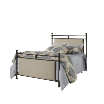 Colley-Critchlow Upholstered Panel Bed Size: King