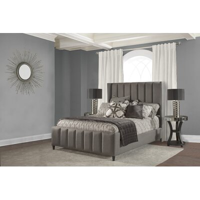 Claudio Upholstered Panel Bed Size: Queen