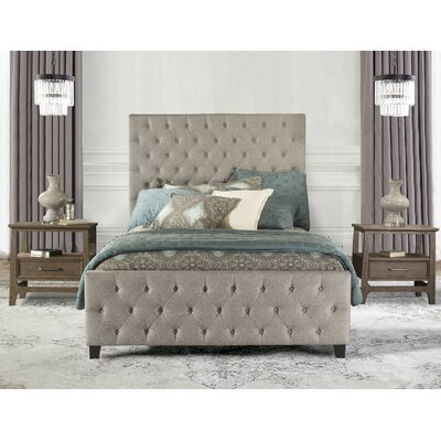 Keesee Upholstered Panel Bed Size: King
