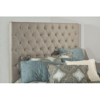 Keesee Upholstered Panel Headboard Size: King