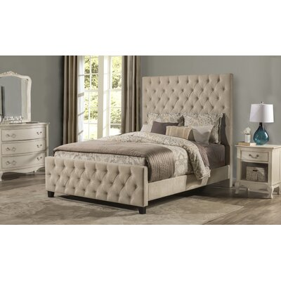 Keesee Upholstered Panel Bed Size: Queen