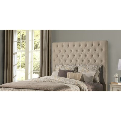 Keesee Upholstered Panel Headboard Size: Queen