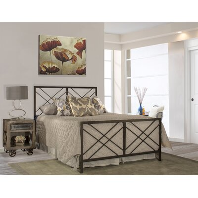 Tuohy Open Frame Headboard And Footboard Size: King