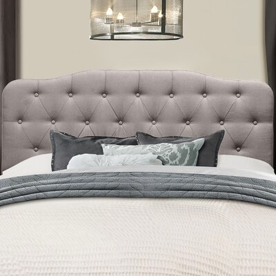Kleist Nicole Upholstered Panel Headboard Size: Queen