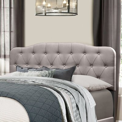 Whittington Upholstered Panel Headboard Size: King
