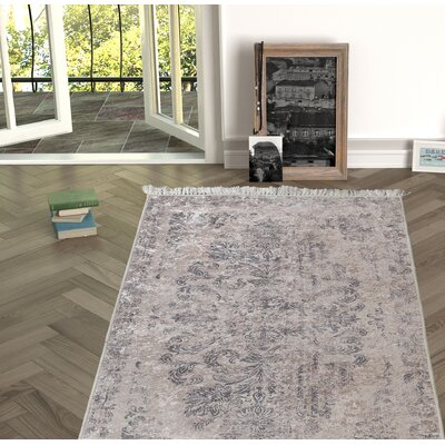 Mcclendon Beige Indoor/Outdoor Area Rug Size: Rectangle 53 x 76