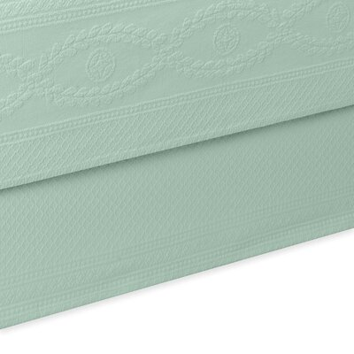 Williamsburg Abby Bed Skirt Color: Sage, Size: Twin