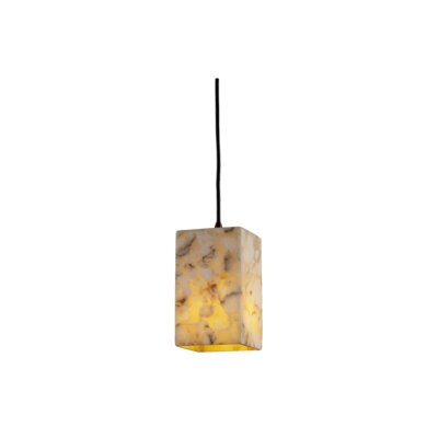 Crosson 1-Light Mini Pendant Finish: Dark Bronze