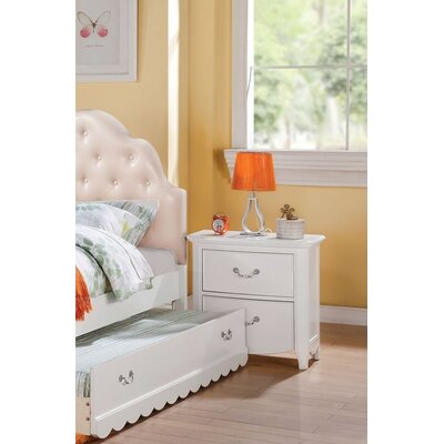 Eurich 2 Drawer Nightstand