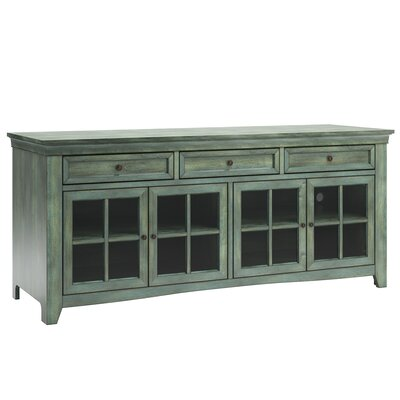 Betts 70  TV Stand Color: Antique Sage