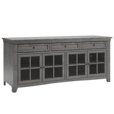 Betts 70  TV Stand Color: Antique Gray
