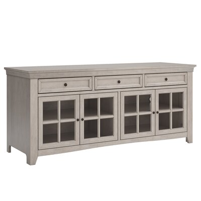 Betts 70  TV Stand Color: Antique White