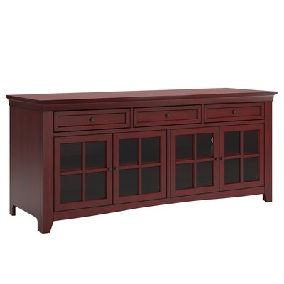 Betts 70  TV Stand Color: Antique Berry
