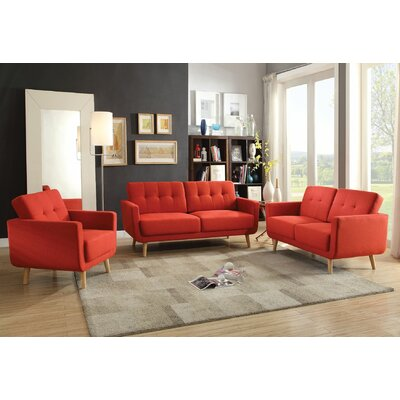 Camron 3 Piece Living Room Set