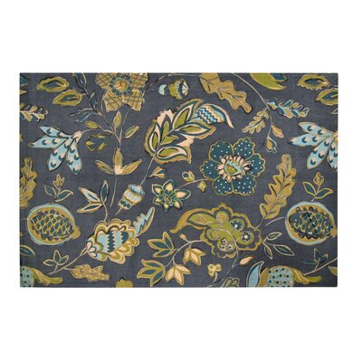 Hilson Green Area Rug