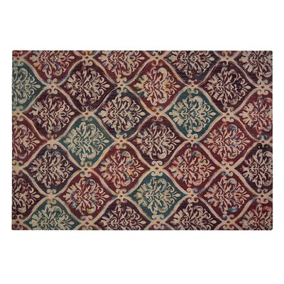 Nickson Red Area Rug