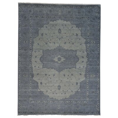 One-of-a-Kind Jude Overdyed Serapi Oriental Hand-Knotted Area Rug Rug Size: Rectangle 9 x 12