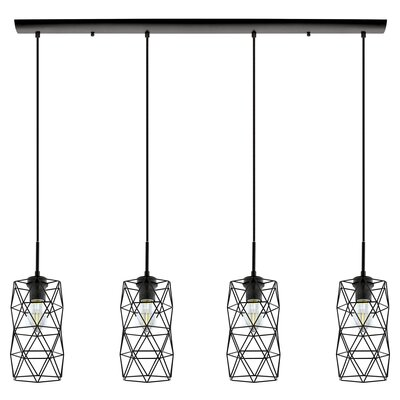 Gurrola 4-Light Kitchen Island Pendant