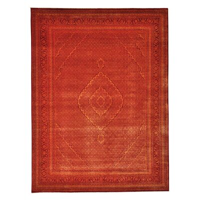 One-of-a-Kind Saltzman Mahi Oriental Hand-Knotted Silk Area Rug