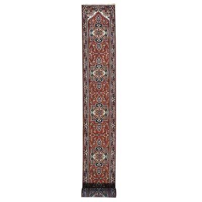 One-of-a-Kind Salzman Serapi Oriental Hand-Knotted Area Rug