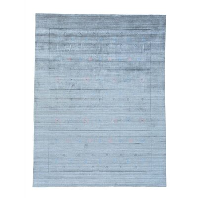 One-of-a-Kind Cienna Modern Hand-Knotted Silk Area Rug