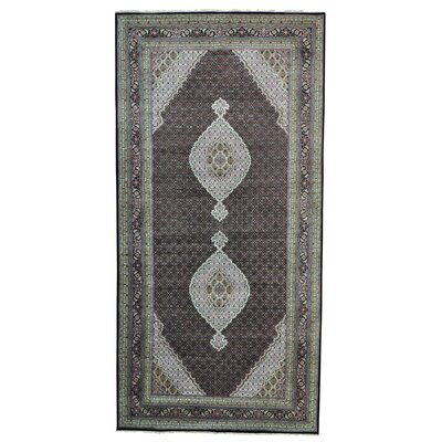 One-of-a-Kind Samons Gallery 250 kpsi Oriental Hand-Knotted Silk Area Rug